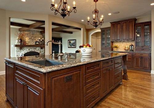 طراحي جزيره آشپزخانه
