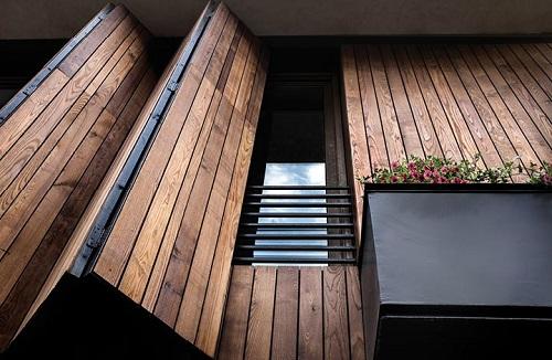 ترموود های مناسب نما ساختمان