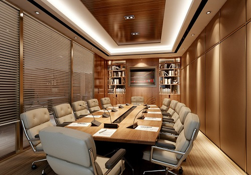 دکوراسیون داخلی اتاق جلسات
