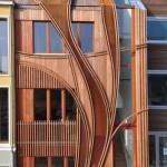 مزایای نمای چوبی