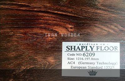 پارکت لمینت شاپلی - SHAPLY FLOOR-6209