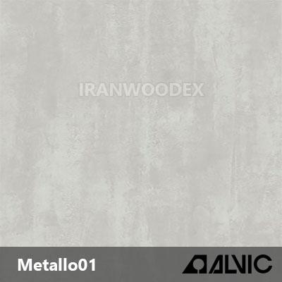 پلی گلاس الویک-Metallo 01