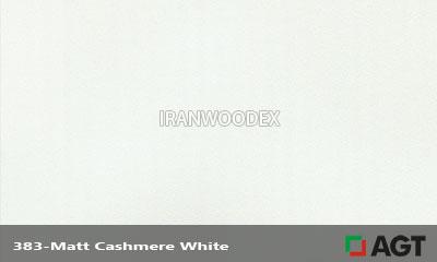 383-Matt Cashmere White