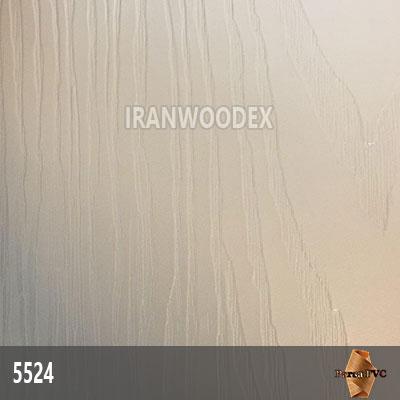5524-سفید صدفی برجسته طرح چوب