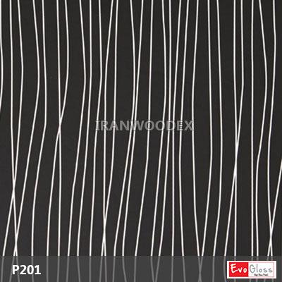 P201-Çizgili siyah