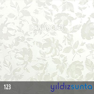 هایگلاس یلدیز - 123-Cicekli Beyaz