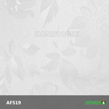 AF519-سفید گلدار