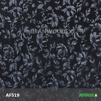 AF519-مشکی گلدار