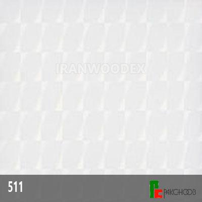 هایگلاس پاک چوب کد511-سفید-3D
