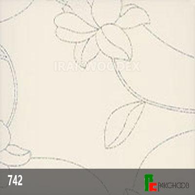 هایگلاس پاک چوب کد 742-سفید گلداریاسمن