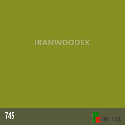 هایگلاس پاک چوب کد 745-سبززیتونی