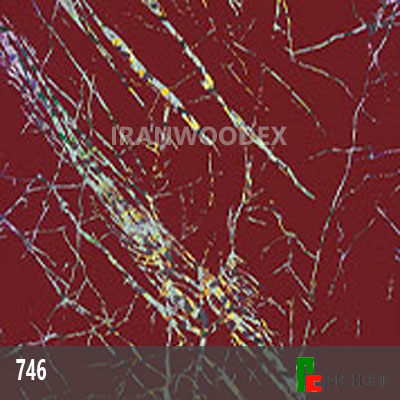هایگلاس پاک چوب کد 746-قرمز رعد نقره ای