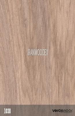 1038-MODERN WALNUT-پارکت لمینت وروکس فلور