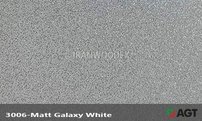 هایگلاس AGT-کد 3006-Matt Galaxy White