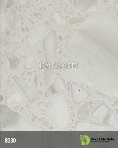 صفحه کابینت درخت سبز-8130-کریستال سفید براق