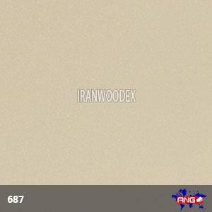 هایگلاس ای ان جی-687-طلایی متالیک