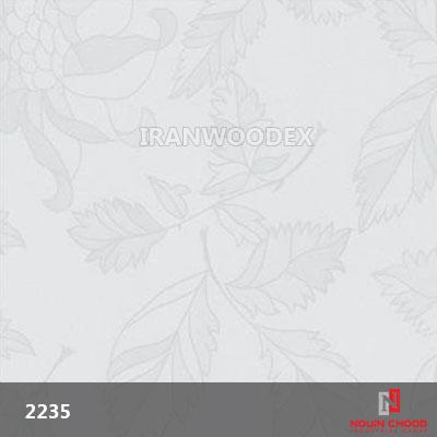 2235-گل سفید هولوگرام
