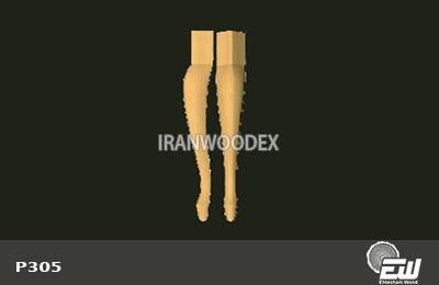 پایه بلند احتشام چوب-P305