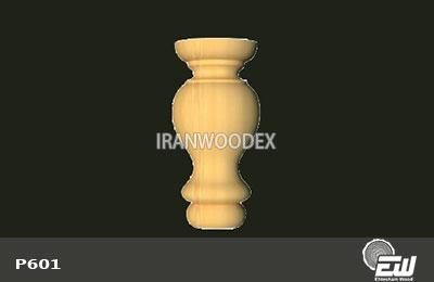 پایه خراطی کوتاه احتشام چوب-P601