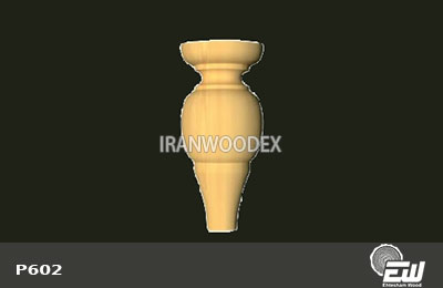 پایه خراطی کوتاه احتشام چوب-P602