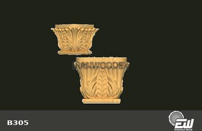 سر ستون روتاری کامل احتشام چوب-B305